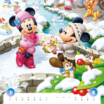 docomo ディズニーの2017年壁掛けカレンダー配布を11/21より開始!条件は?期間は?